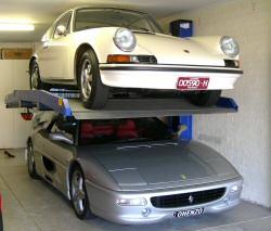 Raddoppiare i posti auto in maniera semplice ed economica for Due box auto indipendenti